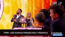 TPMP : Gad Elmaleh drague Kelly Vedovelli au téléphone (vidéo)