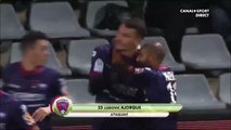 0-1 Ludovic Ajorque Goal France  Ligue 2 - 11.12.2017 Nîmes Olympique 0-1 Clermont Foot