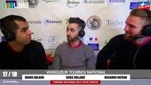 17_18 FFB BLACKBALL TROYES INTERVIEW ABDOU ADLAINE VAINQUEUR TN