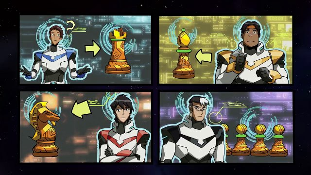 [MOTION COMIC] The Riddle of the Sphinx - Part 2 _ DREAMWORKS VOLTRON LEGENDARY DEFENDER-rpjHEgUdHU0