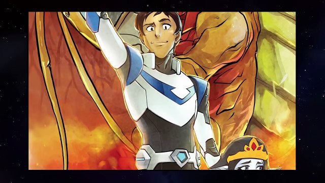 [MOTION COMIC] The Tale of Lance and the Dragon _ DREAMWORKS VOLTRON LEGENDARY DEFENDER-o-hwwAFj1AQ