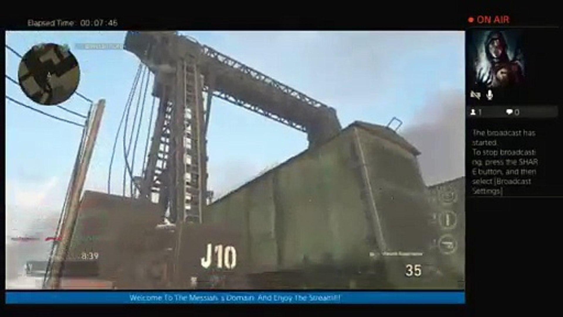 COD WW2  Multiplayer Live w/Wifey (22)