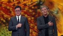 Stephen Colbert and Viggo Mortensen - Save The Bees-l-YhqUBZTXU