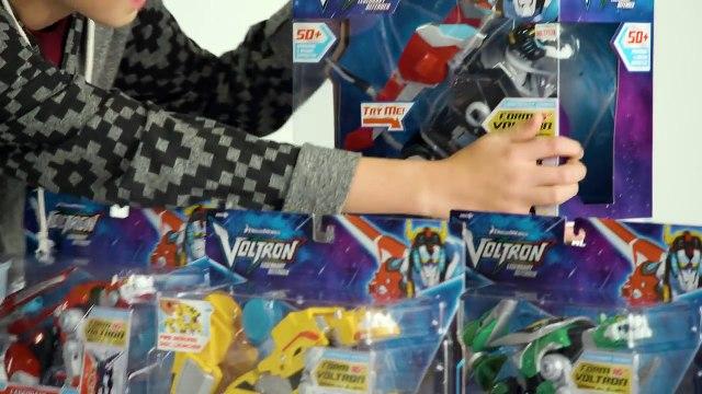 Voltron Legendary Defender ALL 5 LION Action Figures _ UNBOX IT-Npbar5qeL5I