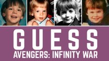 Avengers: Infinity War | Guess Avengers: Infinity War Cast From Childhood Pictures | Then & Now