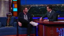 Kevin Love Shows Off NBA Championship Trophy-79pAzIreGfY