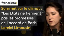 """Sommet sur le climat : """"Les États ne tiennent pas les promesses"""" de l'accord de Paris"""