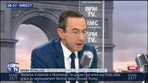 """""""On doit rester à bord."""" Bruno Retailleau regrette le départ de Xavier Bertrand des Républicains"""
