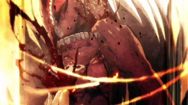 EREN Commands Titans To His Side!!!Attack on Titan Season 2! HD