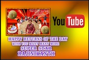 Happy Birthday Super Star RajiniKanth |  Video Tribute to Super star Rajinikanth | PHOTOSHOP CHANDAN