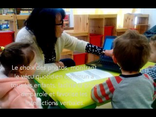CARDIE Caen : une séance de langage pour les moins de trois ans - Ecole maternelle Henri Sellier (Colombelles 14)