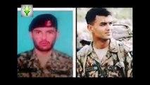 Lt Abdul Moeed Shaheed and Sepoy Basharat Shaheed