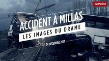 Accident à Millas : les images du drame