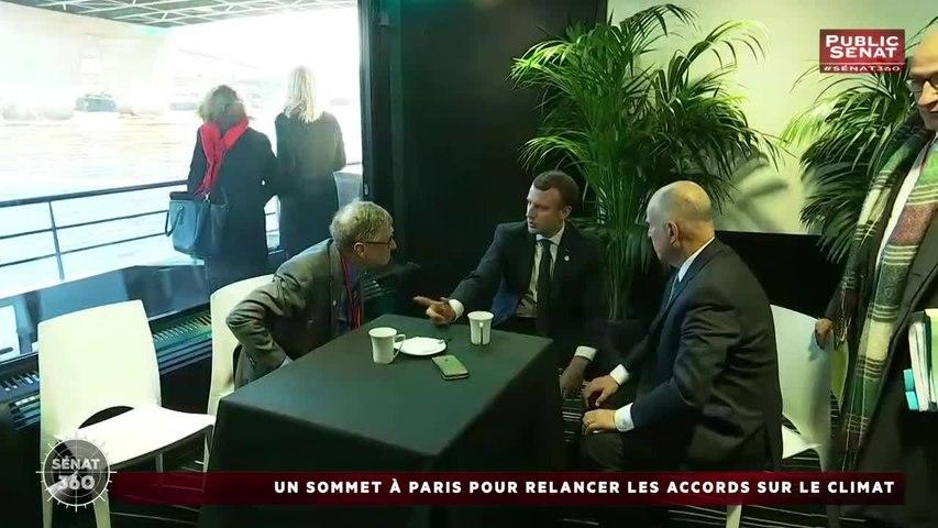 Sommet climat / Logement social / Budget 2018 - Sénat 360 (12/12/2017)