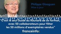 """Philippe Gloaguen :""""50 collaborateurs pour fêter les 50 millions d'exemplaires vendus du Guide du Routard"""""""