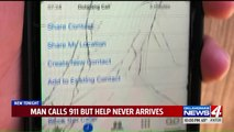 Man Says He Called 911 When He Couldn't Move But Help Never Arrived