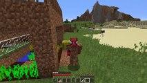 ZENGİN VS FAKİR ÖRÜMCEK ADAM #24 - Zengin Fakir'in Evini Patlattı (Minecraft)