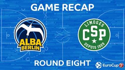 7DAYS EuroCup Highlights Regular Season, Round 8: ALBA 78-84 Limoges