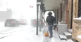 The Weather Network's 'Storm Hunters' Narrowly Avoid Being Hit by a Car in Snowy Ontario