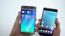 Samsung Galaxy Note7 vs. Galaxy Note5 - Quick Hands-On Comparison Review!-qkY5B3acefc