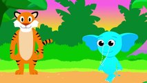 Did You See My Trunk _ Help Ellie the Elephant Find Her Trunk _ Fun Kids songs by Little Angel-r0XUPbFGvyc