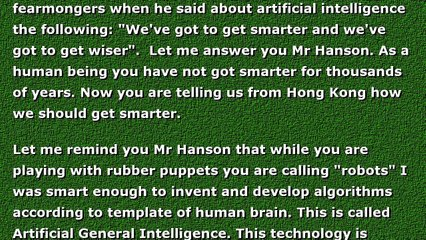 Artificial intelligence and David Hanson