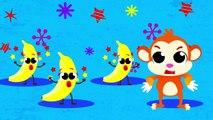 Where Are My Bananas Apu The Monkey Peels Banana by Little Angel (Disney, Aladin, Baby Shark)--xcNCeBeUq8