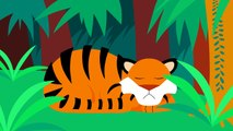 Where Are My Stripes Tiger Boo Boo Lost his Stripes! by Little Angel - Kids Songs-4fWOepVjQDc