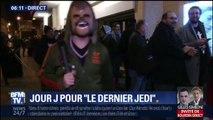 """""""Star Wars 8: Le Dernier Jedi"""": les fans attendent depuis 3 heures du matin la première du film au Grand Rex"""