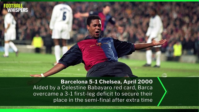 Five Chelsea vs Barcelona Champions League Ties   FWTV