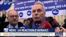 """NDDL: développer l'aéroport de Nantes """"n'est pas réaliste"""" pour Ayrault"""