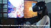 VR GUN SHOOTING GAME VR CF simulator RUNNING GAME MACHINE