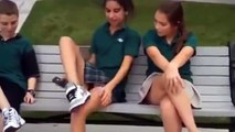 Liseli Kızlar Coşmuş