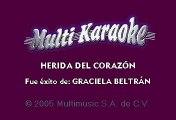 Graciela Beltran - Herida del corazón (Karaoke)