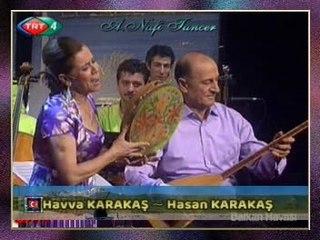 Havva KARAKAŞ & (Hasan KARAKAŞ-Bağlama) - Makinamın Burmaları