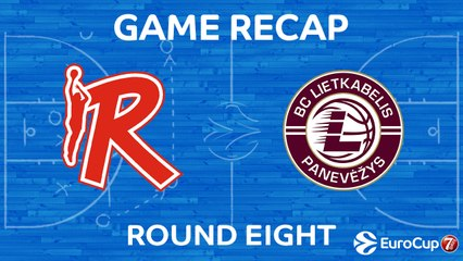 7Days EuroCup Highlights Regular Season, Round 8: Reggio Emilia 82-85 Lietkabelis