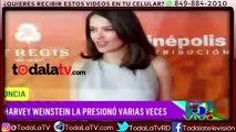 Salma Hayek también fue acosada-El Gordo Y La Flaca-Video