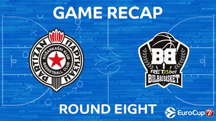 7DAYS EuroCup Highlights Regular Season, Round 8: Partizan 67-83 Bilbao