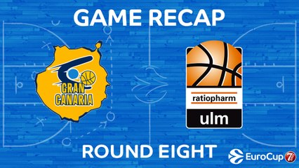 7DAYS EuroCup Highlights Regular Season, Round 8: Gran Canaria 97-84 Ulm