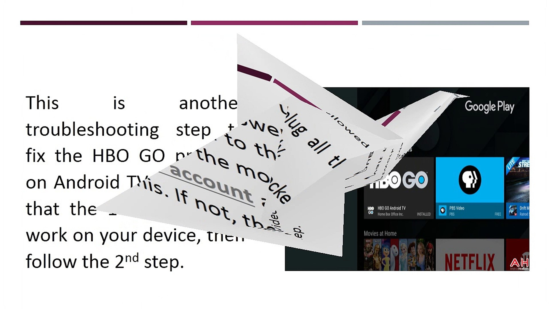 Different Steps To Troubleshoot HBO GO On Android TV
