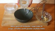 2. Homemade Facewash Multani Mitti Fuller s Earth to remove pimples,boils,acne & dark spots