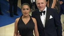 Salma Hayek says Harvey Weinstein threatened to kill her
