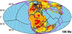 Mô phỏng chuyển động của các mảng kiến tạo địa cầu, kéo theo sự hình thành các dãy núi, núi lửa và các châu lục trong lịch sử