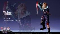 Dissidia : Final Fantasy NT - Présentation de Tidus
