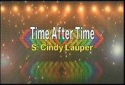 Cindy Lauper Time After Time Karaoke Version