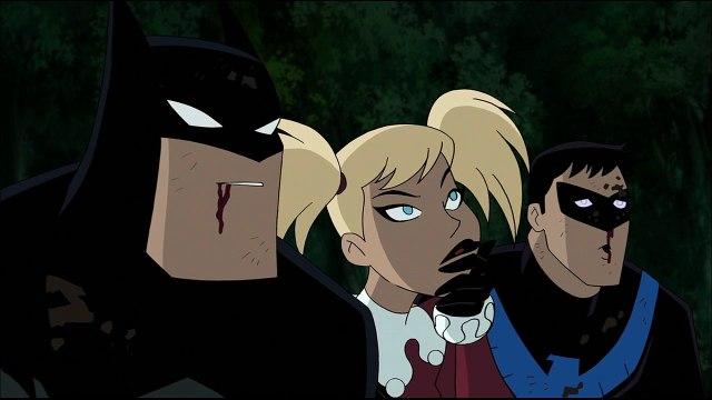 Batman And Harley Quinn (8-8) Batman and Nightwing Kiss Harley