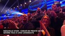 Nouvelle Star : Cœur de Pirate dézingue totalement la prestation d'une candidate (vidéo)