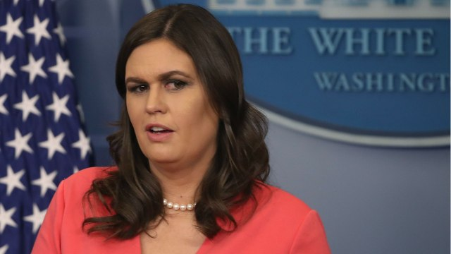 Sarah Huckabee Sanders And The PieGate Scandal