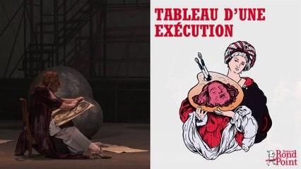 Tableau d'une exécution au Théâtre du Rond-Point