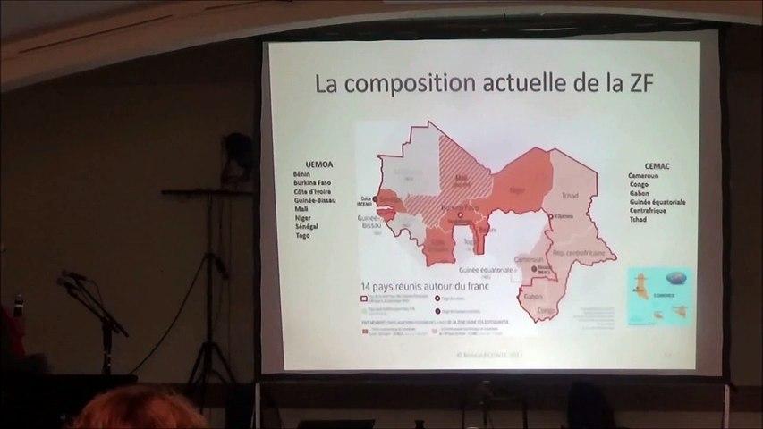 Conférence Franc CFA - Bernard Conte - Volume 1/2